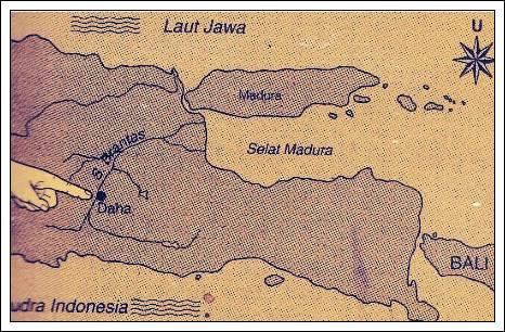 peta k. kediri